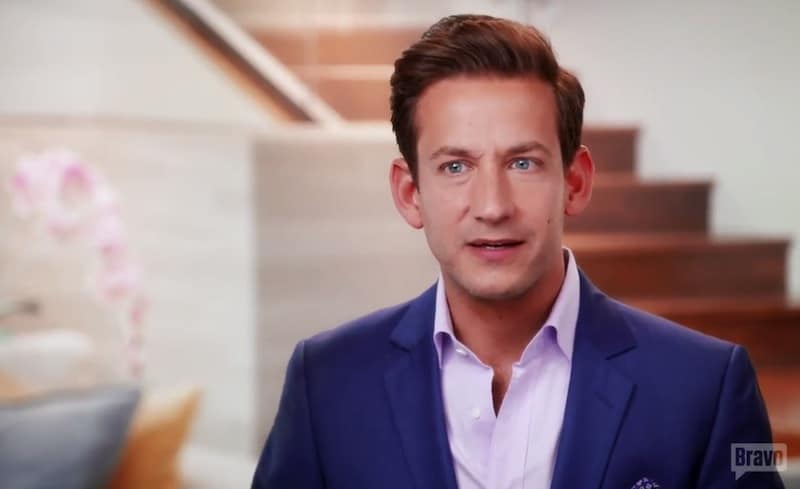 James in the first episode of Million Dollar Listing Los Angeles Season 9