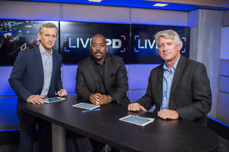 Dan Abrams, Kevin Jackson, Rich Emberlin on Live PD