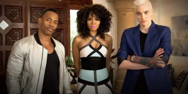 "Nikko London, Margeaux Simms and Merika Palmiste - Marriage Boot Camp's first ""throuple"""