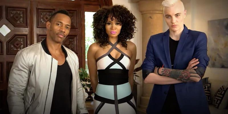"""Nikko London, Margeaux Simms and Merika Palmiste - Marriage Boot Camp's first """"throuple"""""""