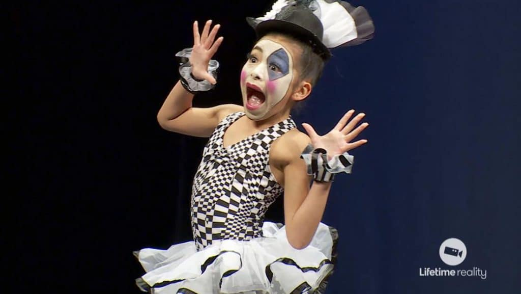 The mime routine on this week's Dance Moms