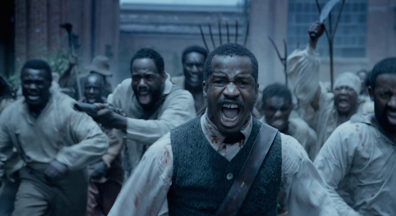 Nate Parker as Nat Turner in The Birth of A Nation, which is in theaters now ]