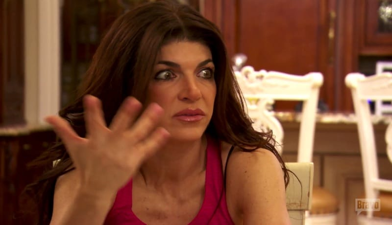 Teresa Giudice talks to brother Joe Gorga about her conviction on The Real Housewives of New Jersey
