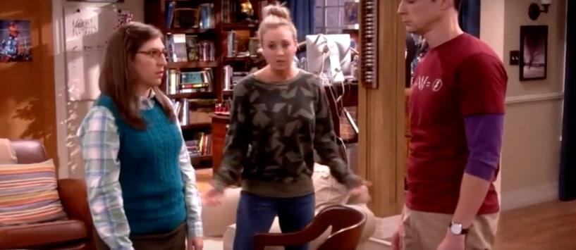Cohabitation woes for Amy and Sheldon on The Big Bang Theory