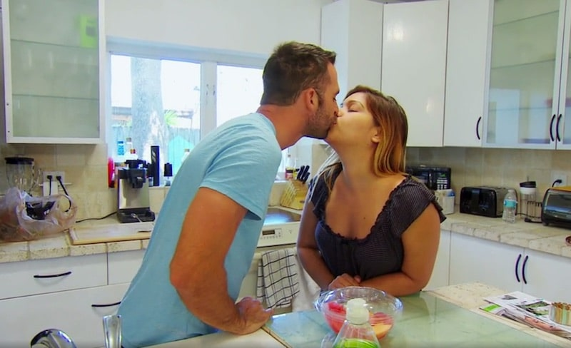 Tom and Lillian kiss ahead of their second honeymoon — on his bus — as Married At First Sight reaches its climax