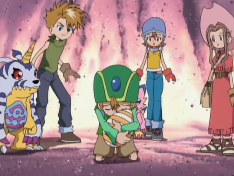 Still from The Legend of the DigiDestined