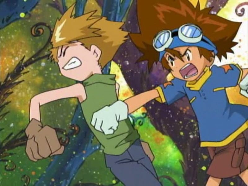 Still from Digimon Adventure episode The Ultimate Clash