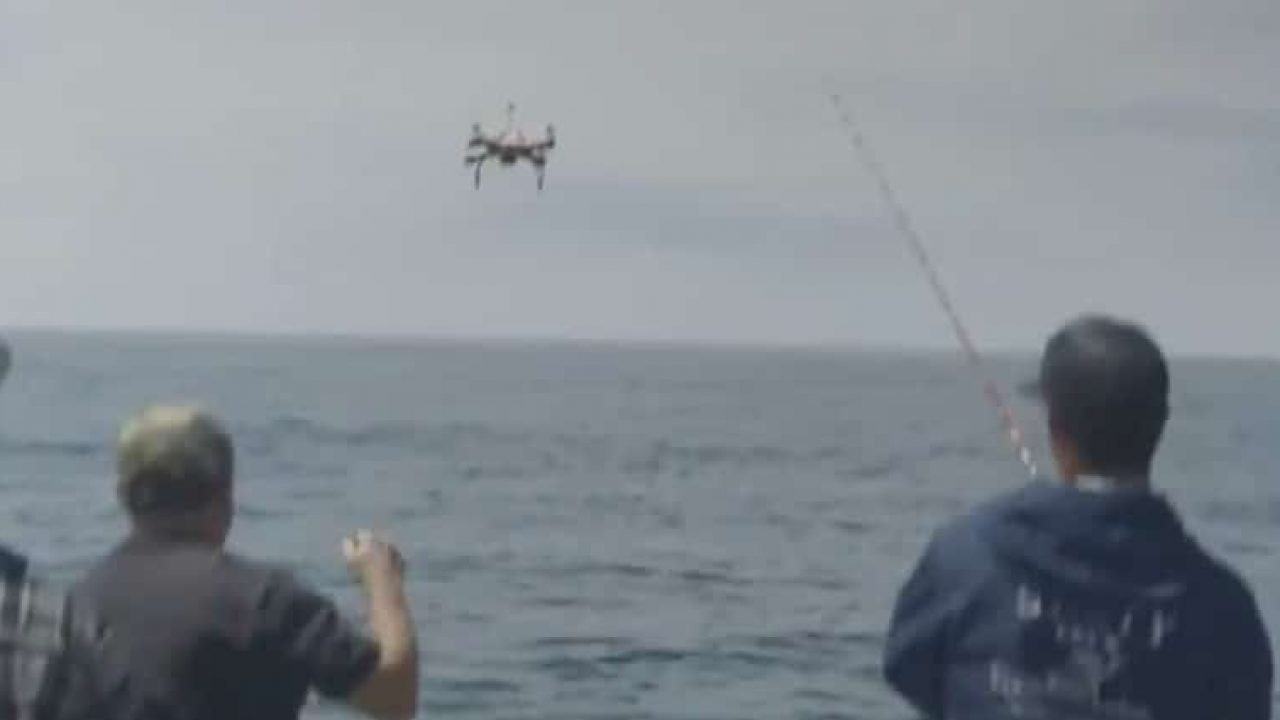 Make Me a Millionaire Inventor features a fishing drone and