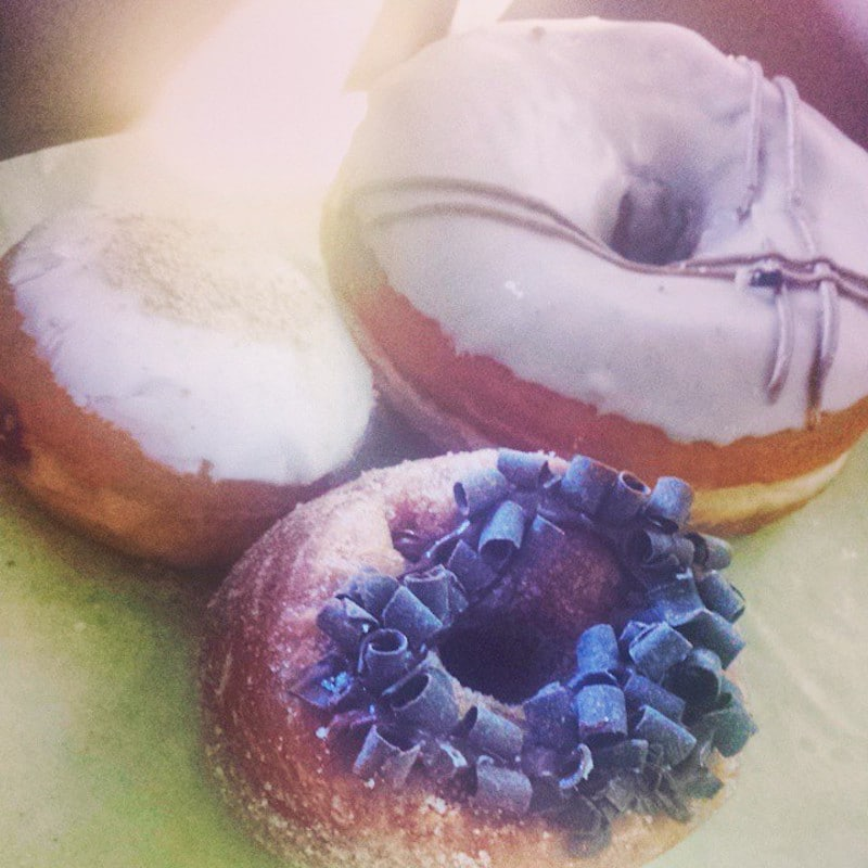 Pictures of donuts which Amanda posted to her Instagram profile