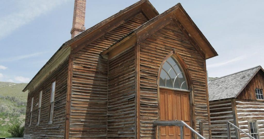 The abandoned town of Bannock, Montana was once a boomtown on the back of a gold rush