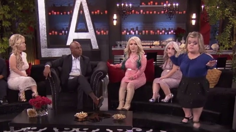 Christy storms out of the discussions on the Little Women: LA reunion