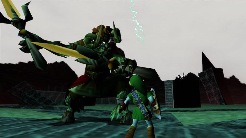 Picture of video game villain Ganon