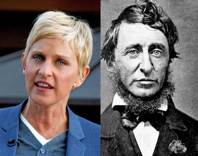 16 historical celebrity lookalikes
