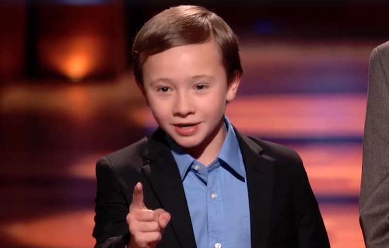 jack stands marketplaces shark tank - 10-year-old boy pitches his business on Shark Tank