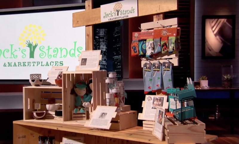 Jack's Marketplaces provide goods made by other young entrepreneurs for kids to sell