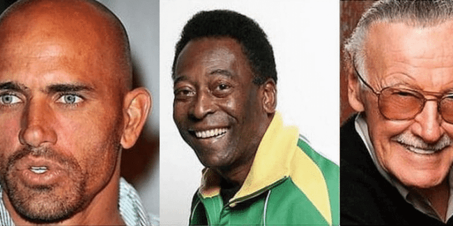 Kelly Slater, Pelé and Stan Lee team up to get kids reading