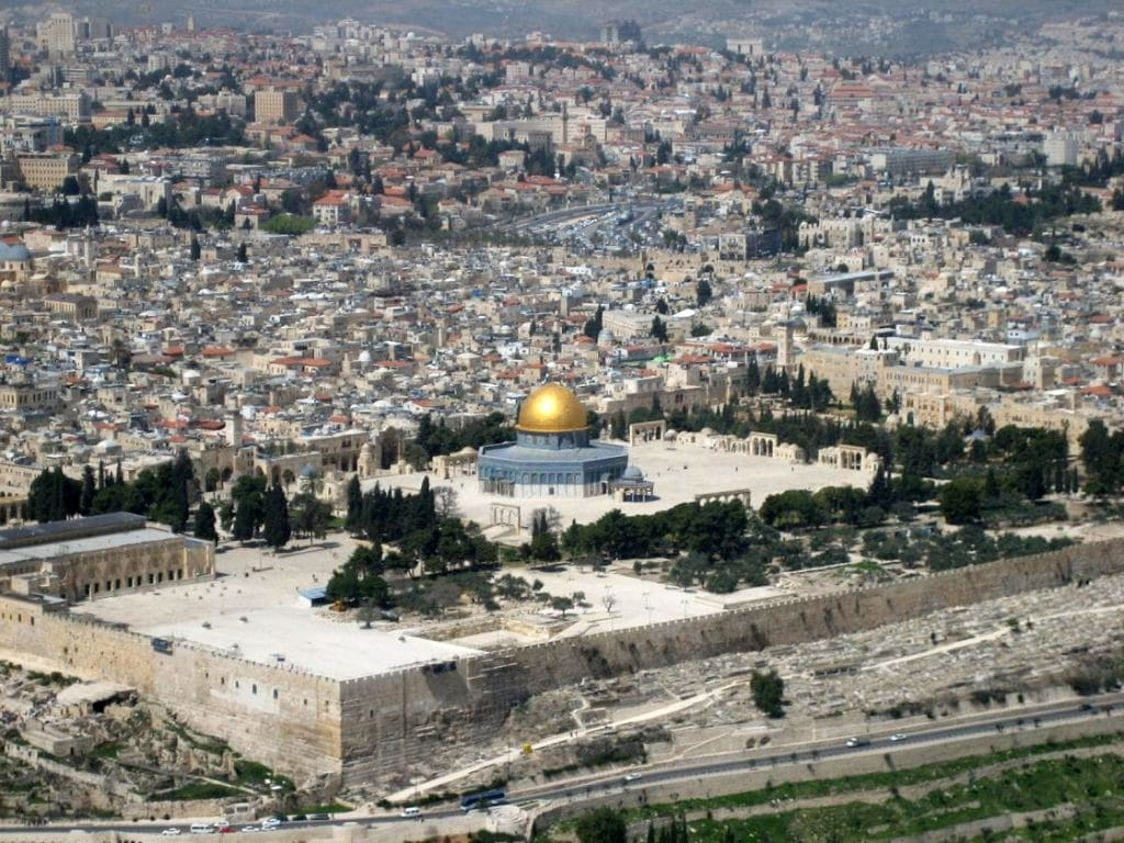 The Temple Mount in Jerusalem, known as the Temple of Solomon by the Crusaders is where the Templars get their name