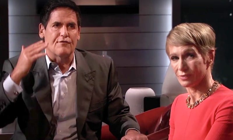 Mark Cuban yells at Chris Sacca during their feud on Shark Tank