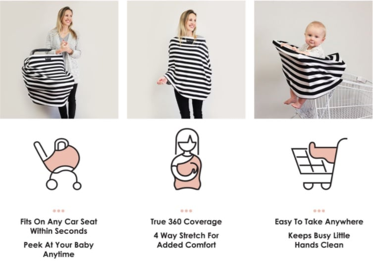 Milk Snob Where Can You Buy Baby Covers From Shark Tank