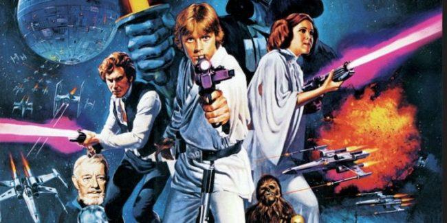 Original Star Wars artwork