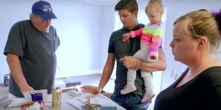 Catalynne and Tyler in Teen Mom OG