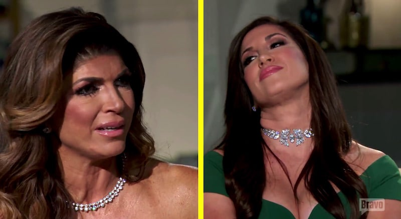 Teresa and Jacqueline clash on The Real Housewives of New Jersey Season 7 reunion