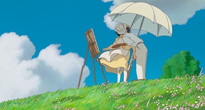 A classic scene from The Wind Rises