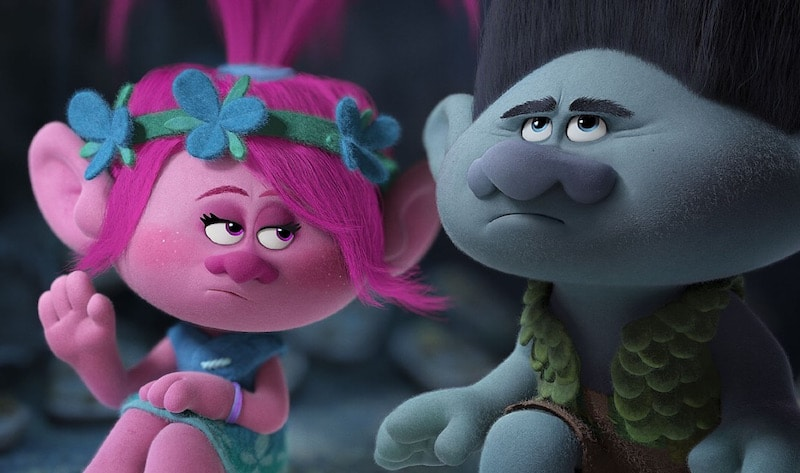 Anna Kendrick's Poppy and Justin Timberlake's Branch in the brilliant Trolls
