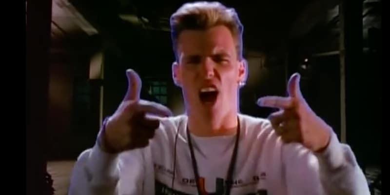 Vanilla Ice, a celebrity who decided to get a day job