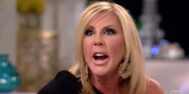 Vicki Gunvalson branded 'old lady' and Shannon Beador storms out on RHOC finale