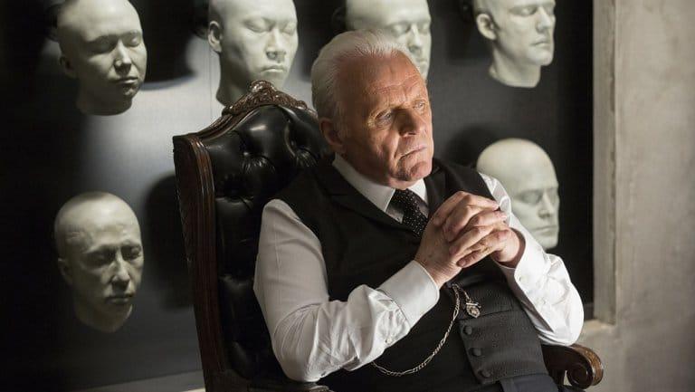 Anthony Hopkins in Westworld