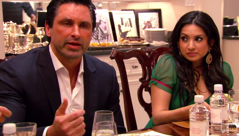 Monica death-stares Imad as he accuses her on Married to Medicine Houston
