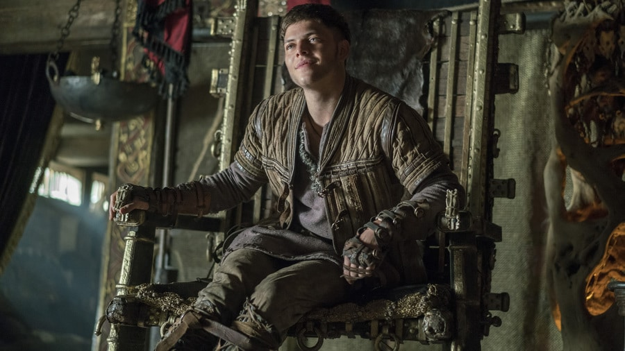 Ivar was keen to go with his father, but how will they fare?