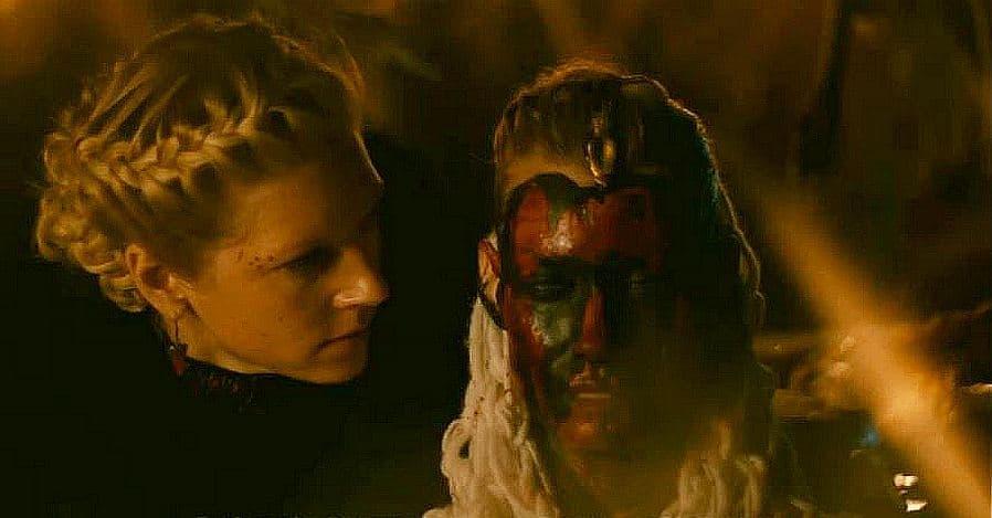 Lagertha and Aslaug on Vikings