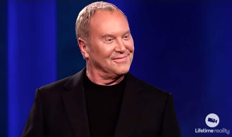 Michael Kors during his return to Project Runway as a guest judge this week