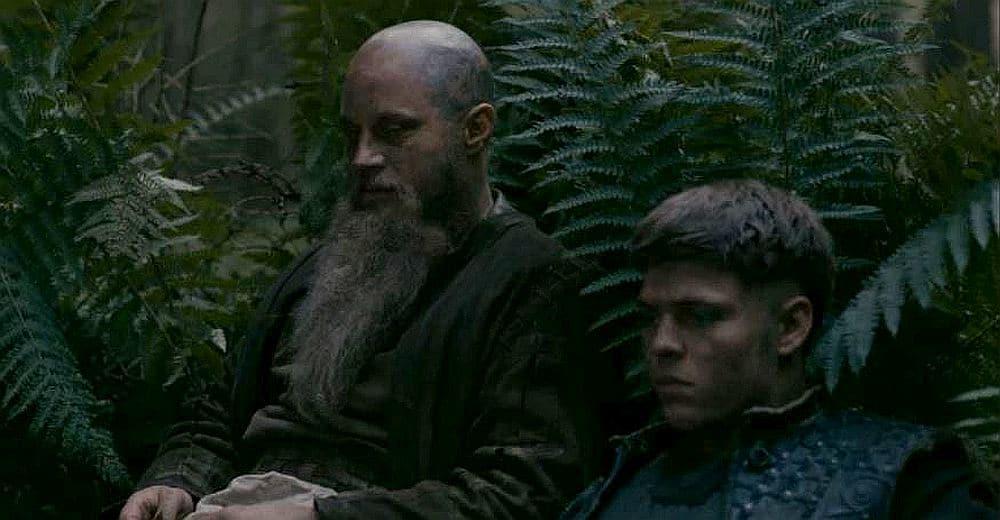 Ragnar and Ivar on Vikings