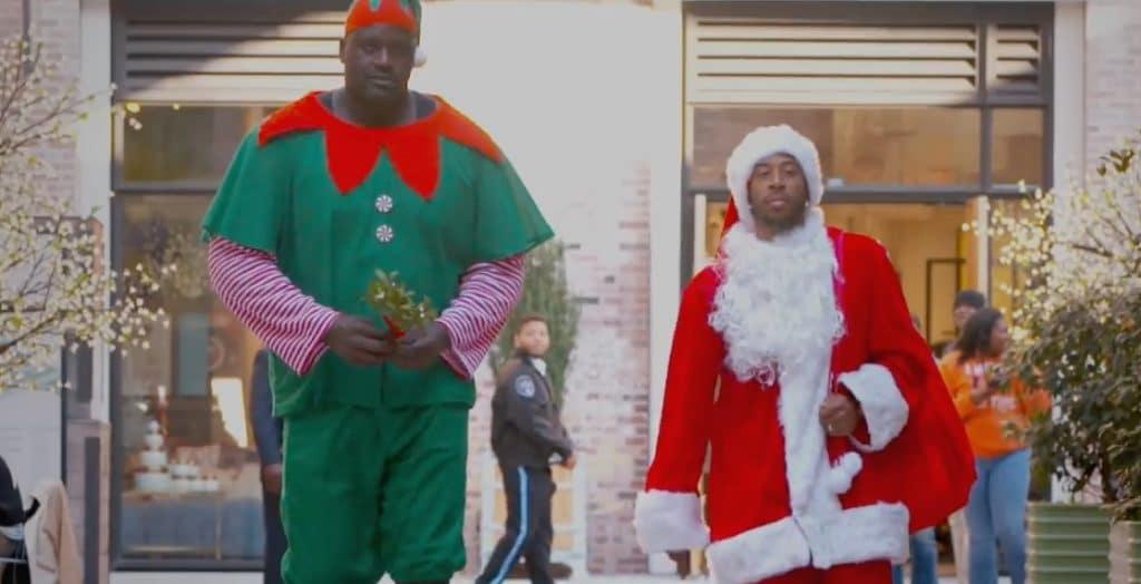 Ludacris Christmas.Celebrity Carolers Spread Festive Cheer On Surprise Instant