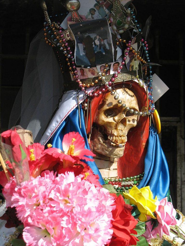 Santa Muerte is a popular deity