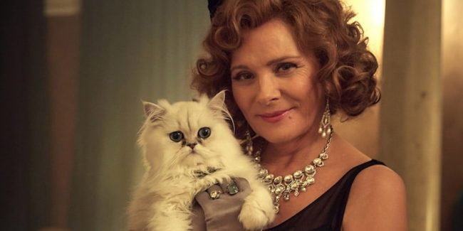 Kim Cattrall in Agatha Christie's The Witness for the Prosecution on Acorn TV