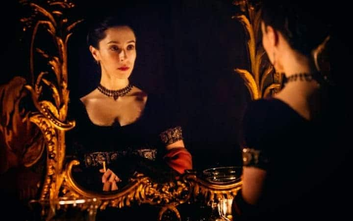 Oona Chaplin as Zilpha CREDIT: ROBERT VIGLASKY