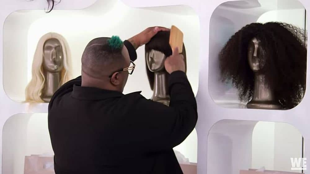 James Wright Chanel styling wigs