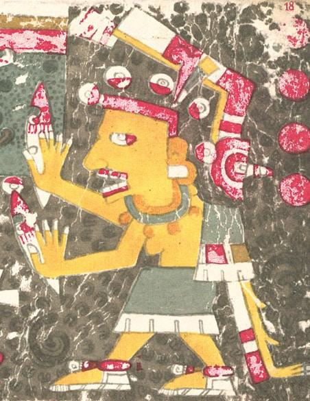 Santa Muerte is an old Aztec goddess