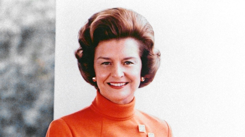 Betty Ford at the White House