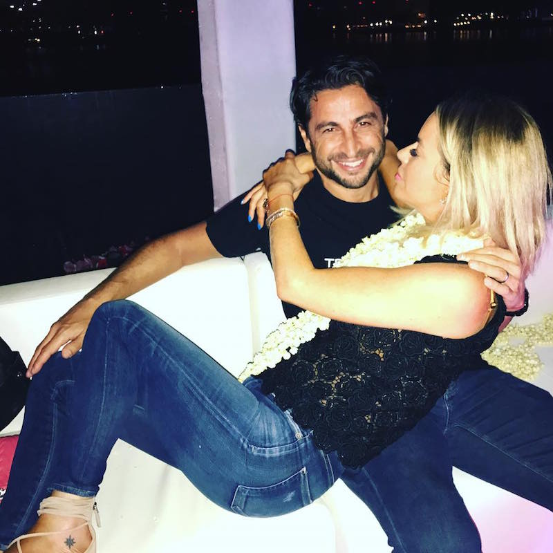 Caroline and husband Cem enjoying the good life in Dubai