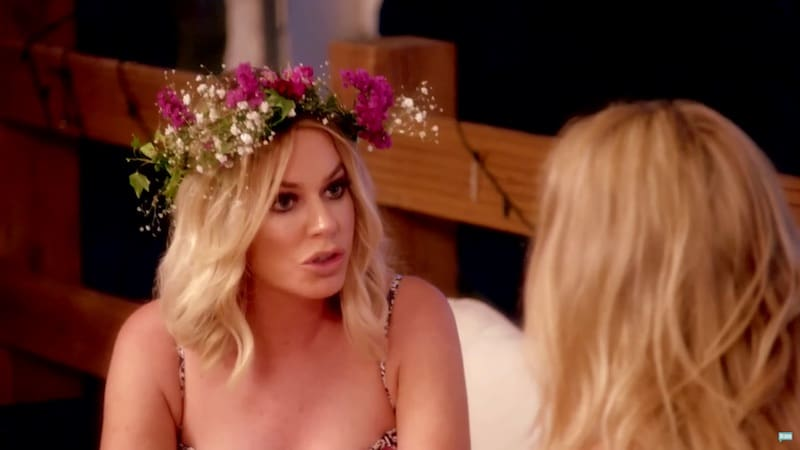 Caroline Stanbury argues with Adela King on this week's episode of Ladies of London