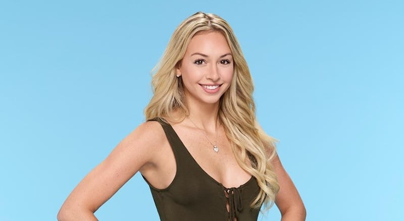 Corinne Olympios in her promotional photo from Season 21 of The Bachelor on ABC