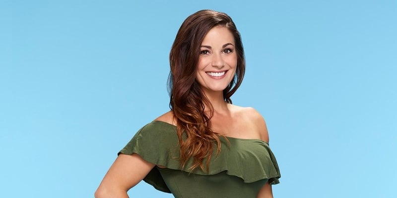 Liz in her profile picture for  Season 21 of The Bachelor