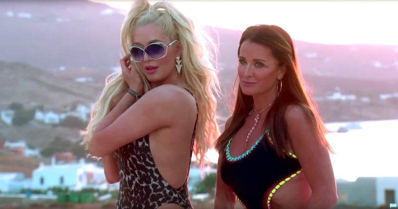 'Rich bitches unite': Erika Girardi and Kyle Richards flaunt bikini bodies on RHOBH