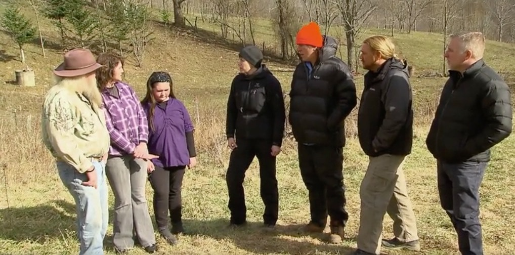 This family of three generations have all seen bigfoot