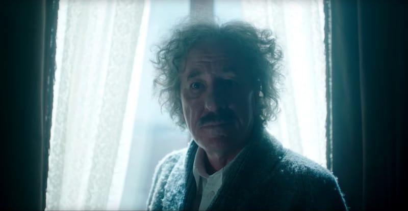 Geoffrey Rush as Einstein in National Geographic's new series Genius